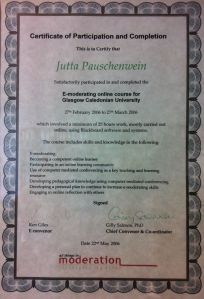 Gilly Salmon Certificate